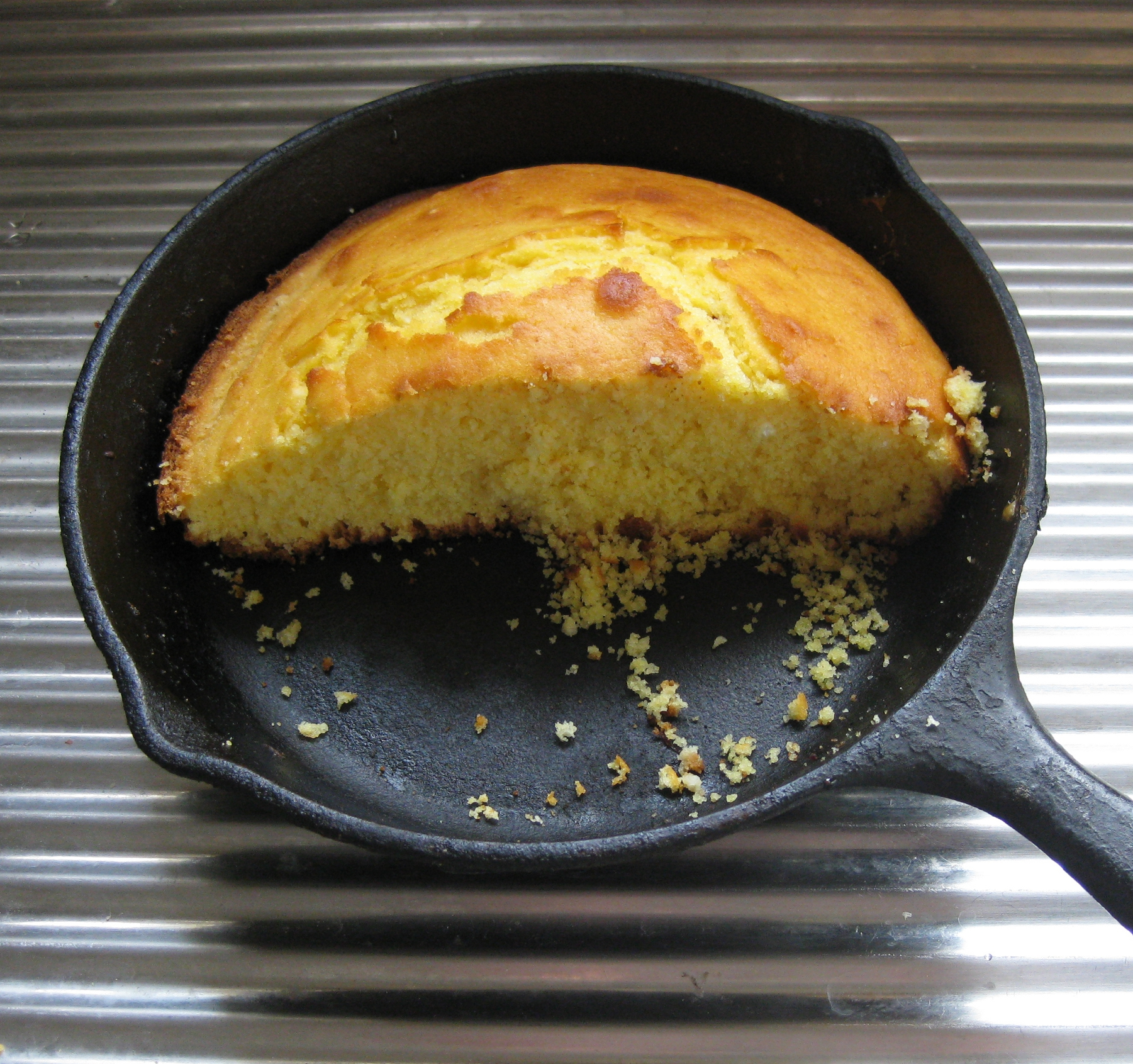 Cast Iron Cornbread Recipe — Dishmaps