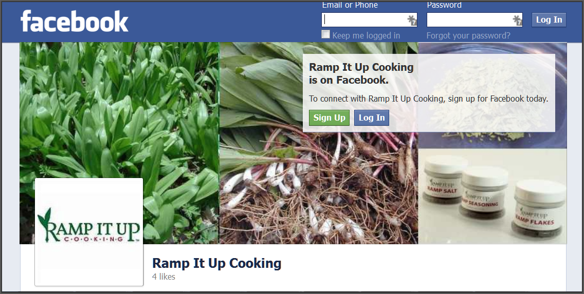 Ramp It Up Cooking on Facebook